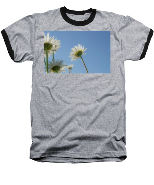 Distracted Daisies Baseball T-Shirt