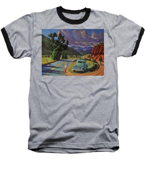 Divergent Paths Baseball T-Shirt