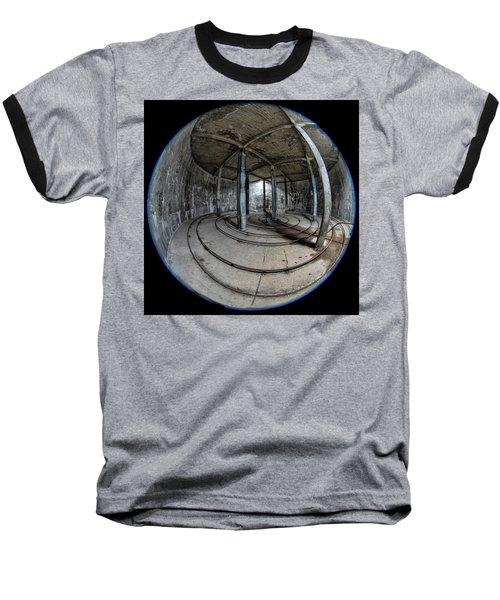 Djupavik Cannery Herring Oil Tank Baseball T-Shirt