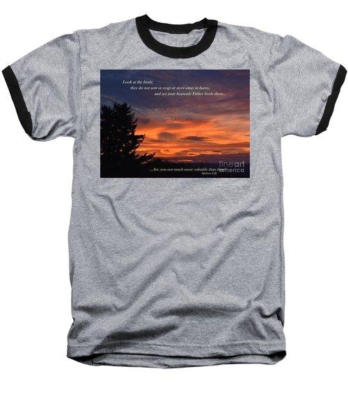 Do Not Worry Baseball T-Shirt