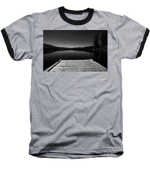 Dock At Dusk Baseball T-Shirt