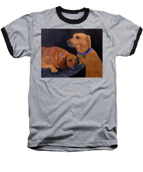 Dog Love Baseball T-Shirt