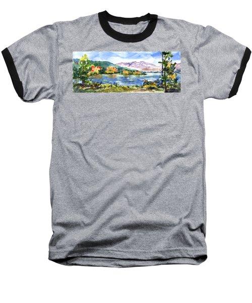 Donner Lake Fisherman Baseball T-Shirt