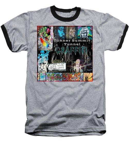 Donner Summit Graffiti Baseball T-Shirt