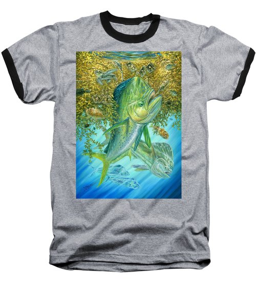 Dorados Hunting In Sargassum Baseball T-Shirt