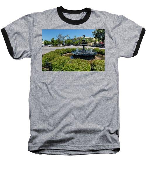 Downtown Aiken Sc Fountain Baseball T-Shirt