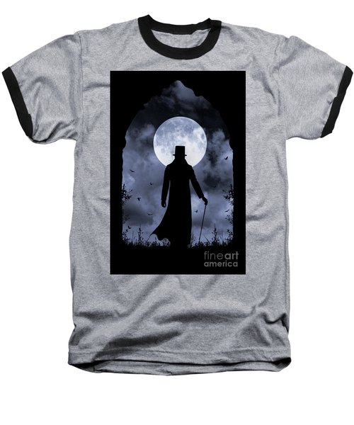 Dracula Returns Baseball T-Shirt