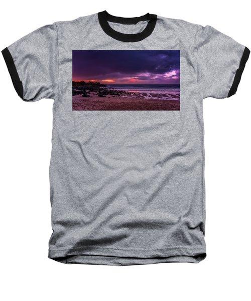 Dramatic Sky At Porthmeor Baseball T-Shirt