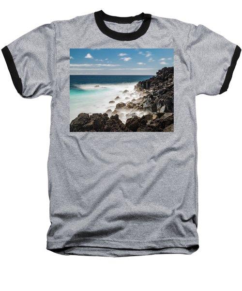 Dreamy Hawaiian Coastline Baseball T-Shirt