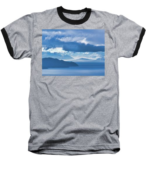 Dreamy Kind Of Blue Baseball T-Shirt