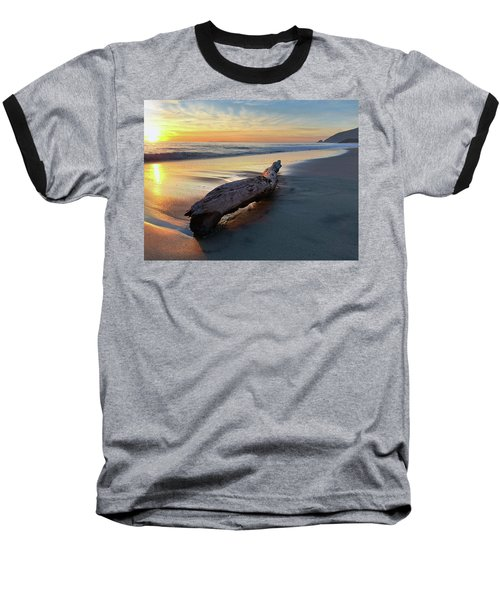 Drift Wood At Sunset II Baseball T-Shirt