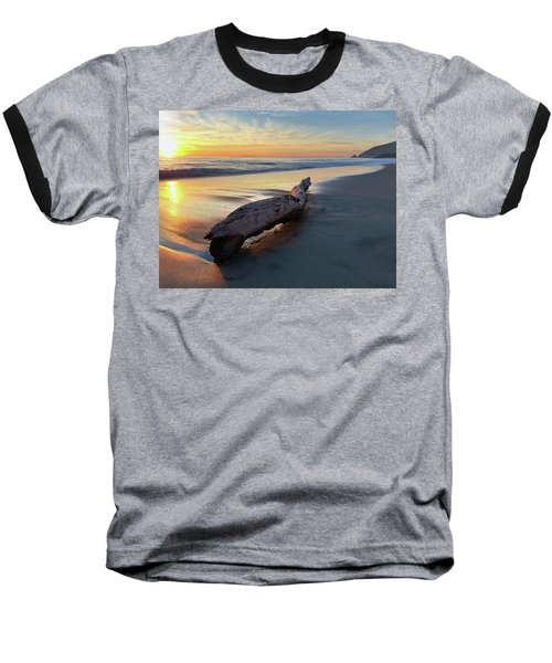 Drift Wood At Sunset II Baseball T-Shirt