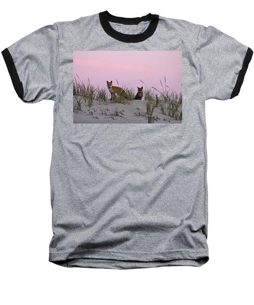 Dune Foxes Baseball T-Shirt