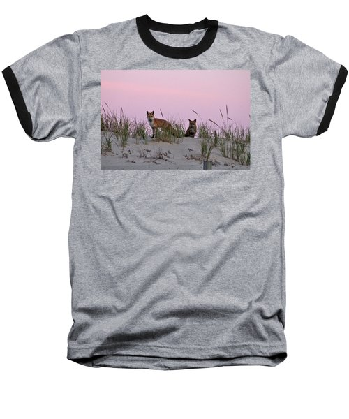 Dune Foxes Baseball T-Shirt