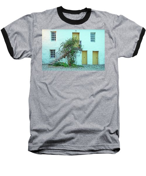 Dunkeld. The Cathedral Square. Baseball T-Shirt