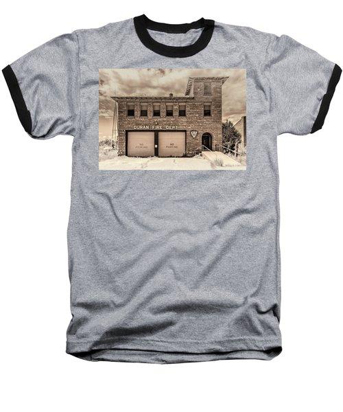Duran Fire Dept Baseball T-Shirt