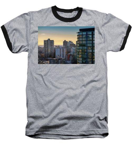 Dusky Hues Over The Pacific Baseball T-Shirt