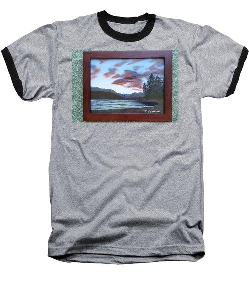 Dutch Harbour, Evening Sky Baseball T-Shirt