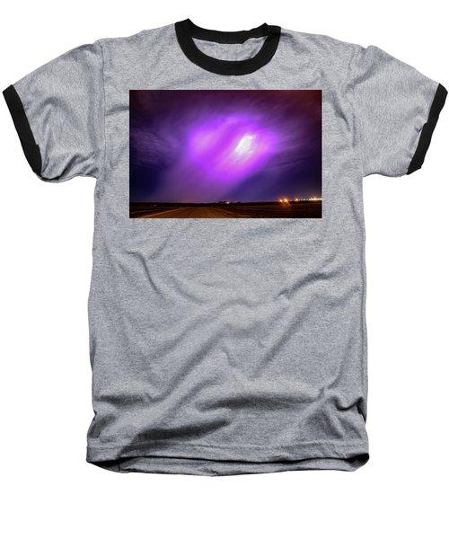 Dying Late Night Supercell 016 Baseball T-Shirt