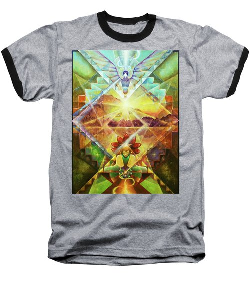 Eagle Boy And The Dawning Of A New Day Baseball T-Shirt