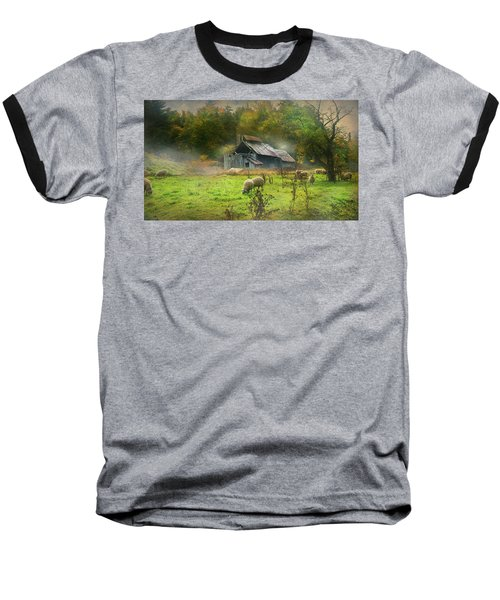 Early Morning Grazing Baseball T-Shirt
