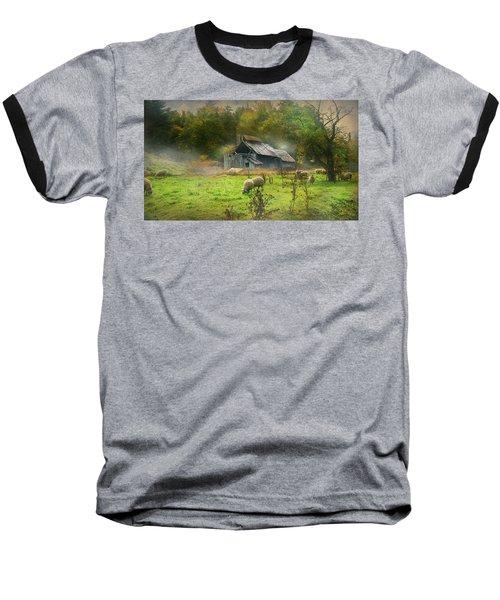 Early Morning Grazing Baseball T-Shirt