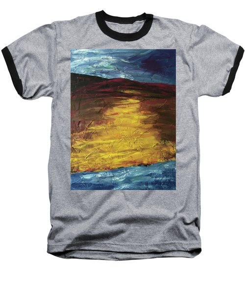 Earth In The Between Baseball T-Shirt