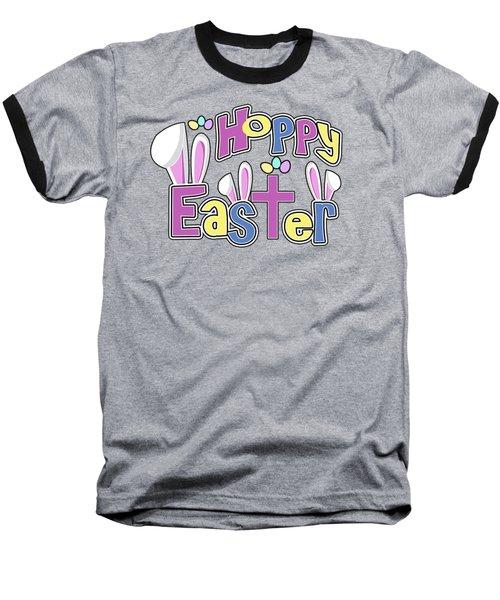 Easter Shirts Kids Hoppy Easter Baseball T-Shirt