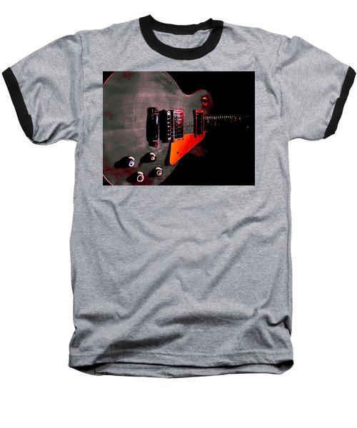 Ebony Relic Guitar Hover Series Baseball T-Shirt