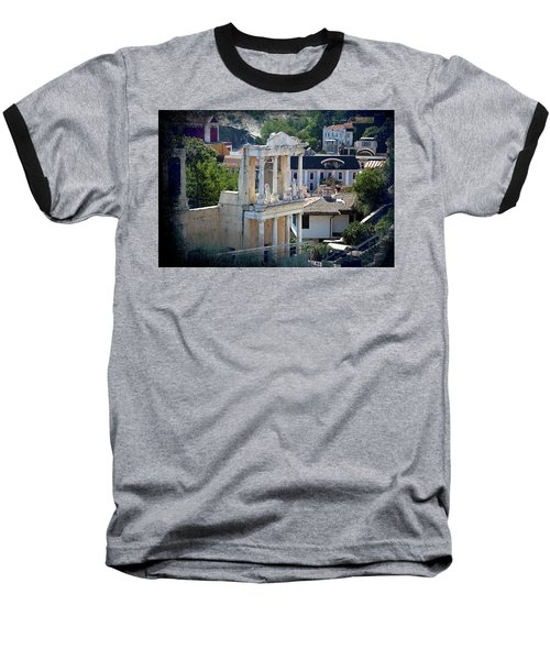 Baseball T-Shirt featuring the photograph Echo From The Old Times by Milena Ilieva