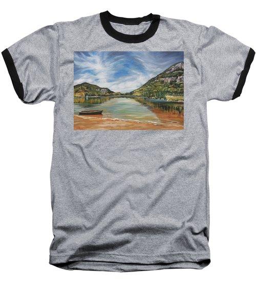 Echo Lake In Franconia Notch New Hampshire Baseball T-Shirt