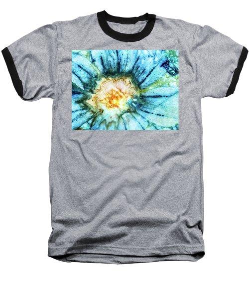 Eco Dyed Cosmos Baseball T-Shirt