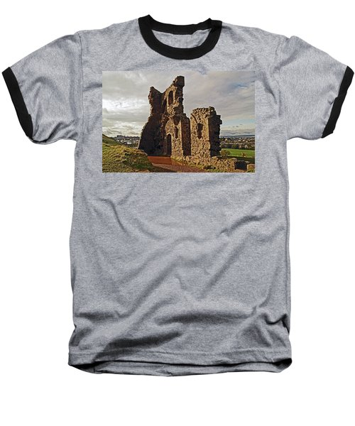 Edinburgh. St. Anthony's Chapel, Holyrood Park Baseball T-Shirt