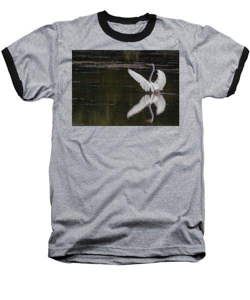 Egret Reflections Baseball T-Shirt