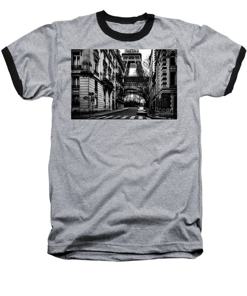 Eiffel Tower - Classic View Baseball T-Shirt