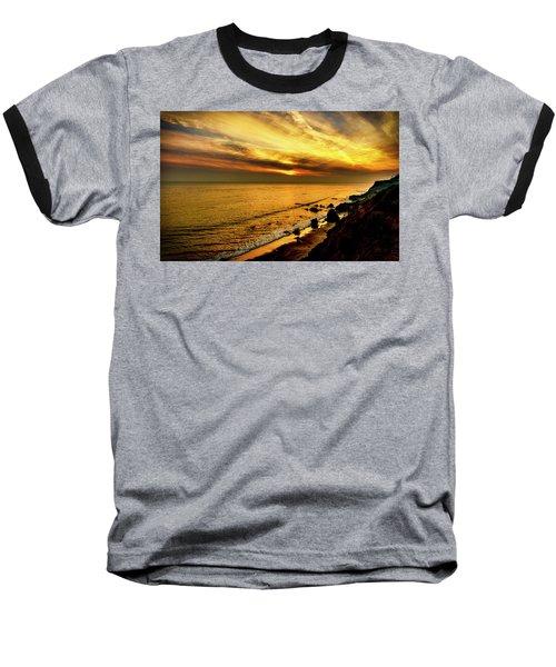 El Matador Beach Sunset Baseball T-Shirt