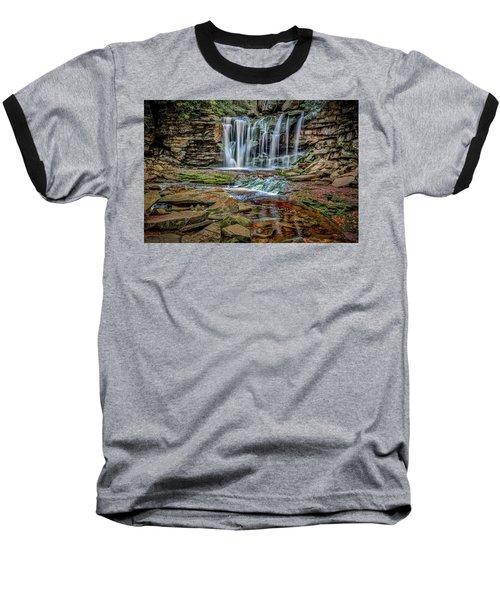 Elakala Falls 1020 Baseball T-Shirt