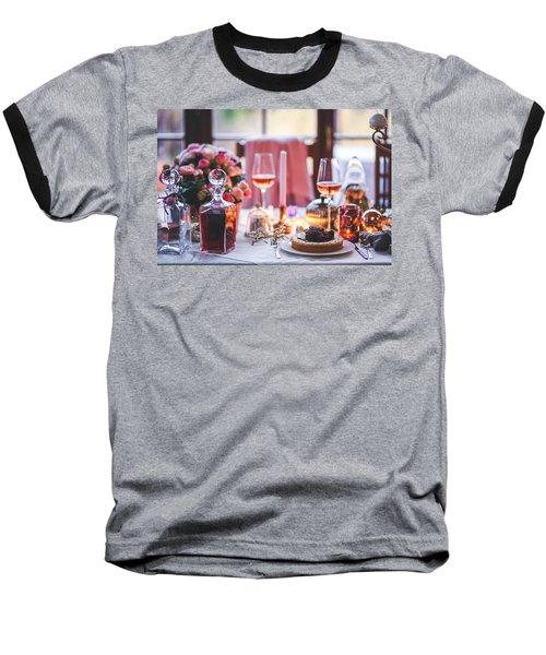 Elegant Tablewear Baseball T-Shirt