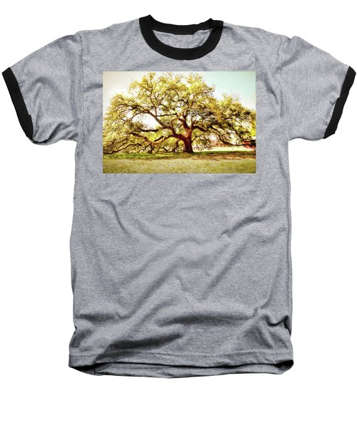 Emancipation Oak Baseball T-Shirt