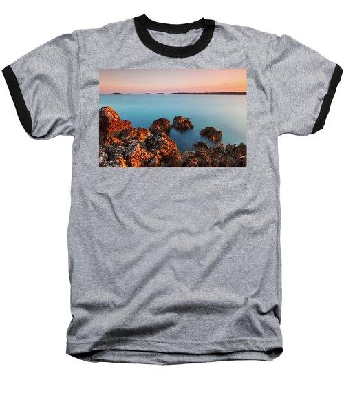 Ember And Blue Baseball T-Shirt