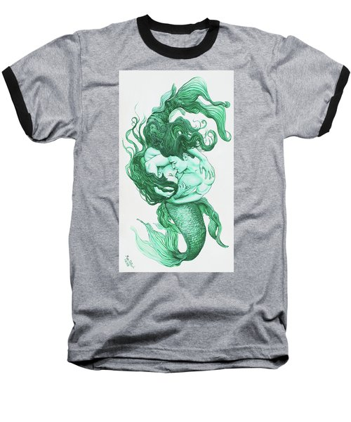 Embracing Mermen Baseball T-Shirt