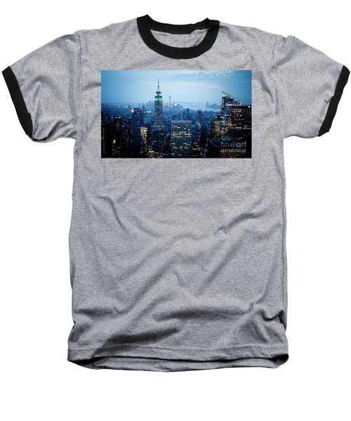 Empire In Blue Baseball T-Shirt