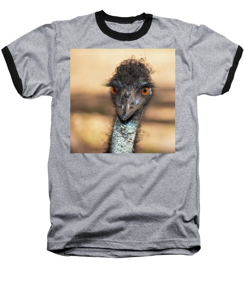 Emu By Itself Outdoors During The Daytime. Baseball T-Shirt