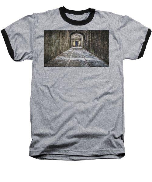 End Of The Tracks Baseball T-Shirt