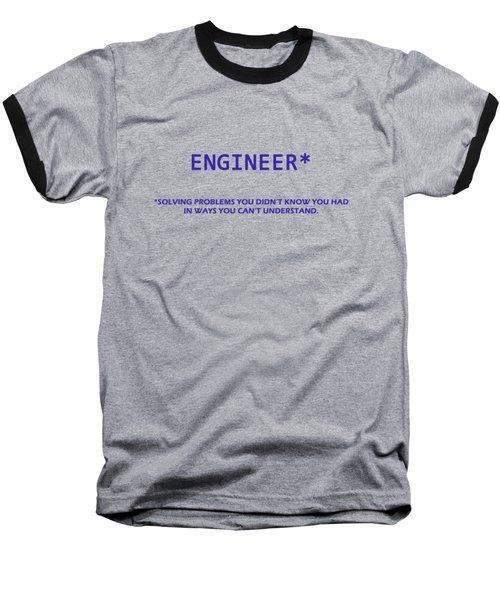 Engineer Baseball T-Shirt