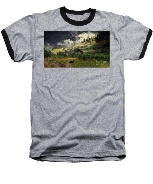 English Courtryside Baseball T-Shirt