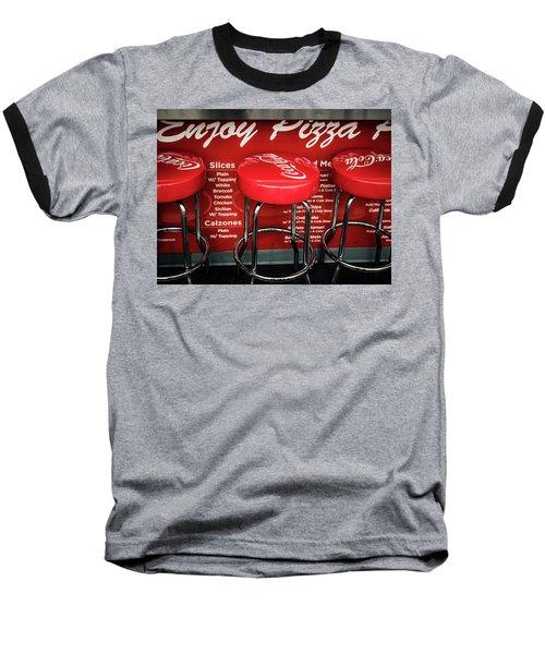 Enjoy Pizza And A Coke Baseball T-Shirt