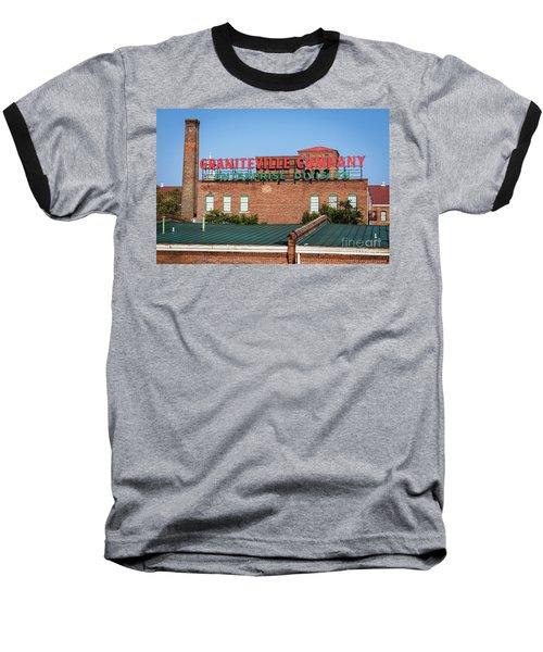 Enterprise Mill - Graniteville Company - Augusta Ga 2 Baseball T-Shirt