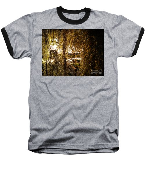 Baseball T-Shirt featuring the photograph Entry by Robert Knight