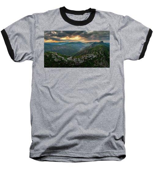 Epic Linville The Chimneys Baseball T-Shirt